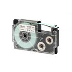 Ruban 9 mm x 8m noir sur blanc pour étiqueteuse KL-60, KL-120, KL-130, KL-820, KL-7400, KL-G2, KL-HD1