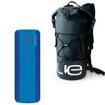Enceinte portable étanche Bluetooth pour tablette/smartphone + Sac à dos waterproof offert