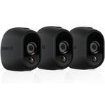 Lot de 3 coques en silicone noires remplaçables pour caméra Netgear Arlo