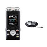 Dictaphone Wi-Fi compatible Smartphone 4 Go et lecteur de carte SD + microphone périphérique