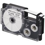 Bagues thermo-rétractables 9 mm x 2.5 m noir sur blanc pour étiqueteuse KL-120, KL-130, KL-820, KL-7400, KL-HD1, KL-G2