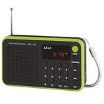 Radio réveil portable FM/DTS avec sortie casque et entrée AUX