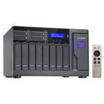 """Serveur NAS 8 baies 3.5""""/2.5"""" + 4 baies 2.5"""" avec processeur Dual-Core Intel Core i3-6100 3.7 GHz - RAM 8 Go (sans disque dur)"""