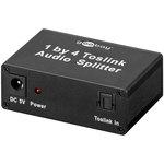 Splitter audio Toslink 1 vers 4