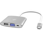 Adaptateur USB-C vers VGA + USB-C + USB - Bonne affaire (article utilisé, garantie 2 mois