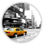 Tapis de souris rond New York City