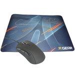Souris optique pour pro gamer + tapis de souris pour gamer dédicacé (format standard)