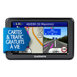 "GPS 24 pays d'Europe Ecran 4.3"" double orientation"