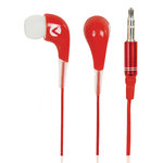 Écouteurs intra-auriculaires (rouge)
