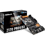 Carte mère ATX Socket 1151 Intel Z170 Express - SATA 6Gb/s + SATA Express + M.2 - DDR3 - USB 3.0 - 2x PCI-Express 3.0 16x  - Bonne affaire (article utilisé, garantie 2 mois