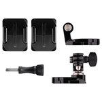 Fixation frontale et latérale pour casque pour toutes les caméras GoPro