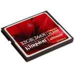 Kingston CompactFlash 32 Go Ultimate 266X - Bonne affaire (article utilisé, garantie 2 mois