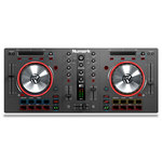 Contrôleur DJ MIDI USB 16 pads, 100 mm pitch faders, 2 voies