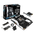 Carte mère ATX Socket 2011-3 Intel X99 Express - 5x PCI-Express 3.0 16x - Wi-Fi AC/Bluetooth 4.0 - Cartes d'extension pour ventilateurs, M.2 et ports USB 3.1 - Bonne affaire (article utilisé, garantie 2 mois