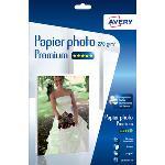 Papier photo brillant de haute qualité pour imprimante jet d'encre - 270g/m² - A4 - 25 feuilles