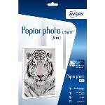 Papier photo supérieur mat pour imprimante jet d'encre - 170g/m² - A4 - 20 feuilles