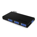 Hub 4 ports USB 3.0 (coloris noir)