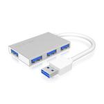 Hub 4 ports USB 3.0 (coloris blanc)