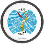 """GPS pour scooter - Ecran tactile circulaire 2.4"""" - Etanche (IPX7) - Europe - TomTom Trafic et radars à vie"""