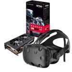 Casque de réalité virtuelle + carte graphique Sapphire Radeon RX 480 8 Go