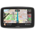 """GPS Monde Ecran 6"""" - Cartographie, Trafic et Zones de danger gratuits à vie - Carte SIM - Wi-Fi"""