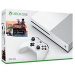 Console de jeux-vidéo 4K nouvelle génération avec disque dur 500 Go + Battlefield 1