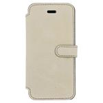 Etui folio en cuir véritable pour iPhone 7