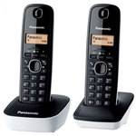 Téléphone DECT sans fil avec combiné supplémentaire (version française)