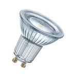 Ampoule LED spot culot GU10 4.3W (50W) 2700K 120° Blanc Chaud