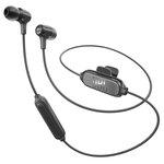 Écouteurs intra-auriculaires sans fil Bluetooth avec télécommande et micro