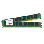 Kit Dual Channel RAM DDR3 PC12800 - CT2K4G3ERSLS8160B (garantie à vie par Crucial)