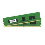 Kit Dual Channel RAM DDR4 PC4-19200 - CT2K4G4WFS824A (garantie 10 ans par Crucial)