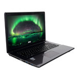 "Intel Core i3-6100H 4 Go 2 To 17.3"" LED HD+ Graveur DVD Wi-Fi N/Bluetooth Webcam (sans OS)"