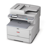 Imprimante multifonction laser couleur 3-en-1 (USB 2.0/Fast Ethernet)