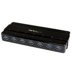 Hub 7 ports USB 3.0 avec protection contre les surtensions