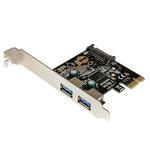 Carte contrôleur PCI-E (2 ports USB 3.0 Type-A)