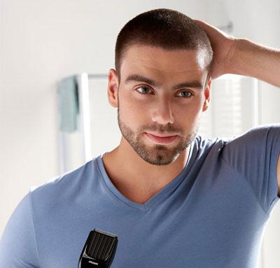 coupe de cheveux homme 5mm