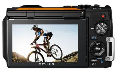 Olympus tg 860 noir appareil photo num rique olympus sur for Appareil photo ecran 180