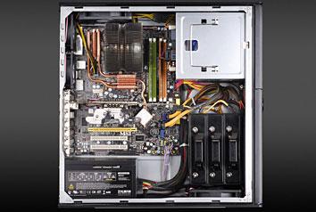 Zalman hd501 bo tier pc zalman sur for Interieur ordinateur