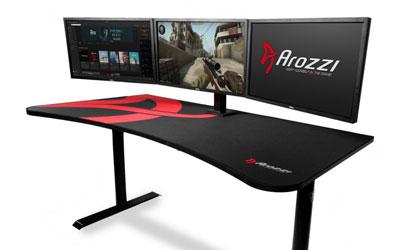 Arozzi arena noir meuble ordinateur arozzi sur ldlc.com