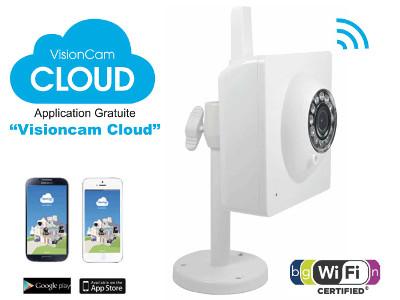 Heden VisionCam Cloud V1.7 Blanc (CAMHP1IPWI)