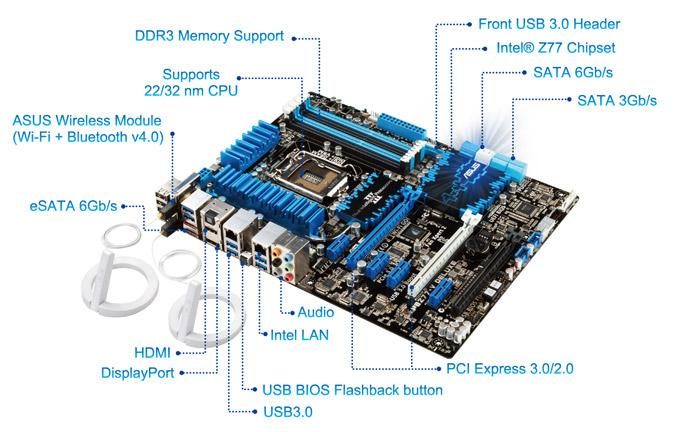 Asus P8z77 V Deluxe Carte M 232 Re Asus Sur Ldlc Com