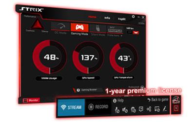 ASUS GeForce GTX 1050 Ti OC EX-GTX1050TI-O4G 4 optimark