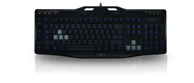 logitech gaming keyboard g105 clavier pc logitech sur. Black Bedroom Furniture Sets. Home Design Ideas