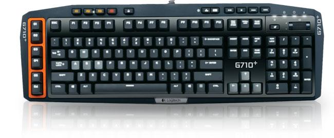 logitech g710 mechanical gaming keyboard clavier pc logitech sur. Black Bedroom Furniture Sets. Home Design Ideas