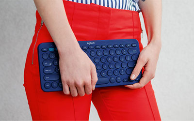 Logitech Multi-Device Keyboard K380 Gris - Clavier tablette