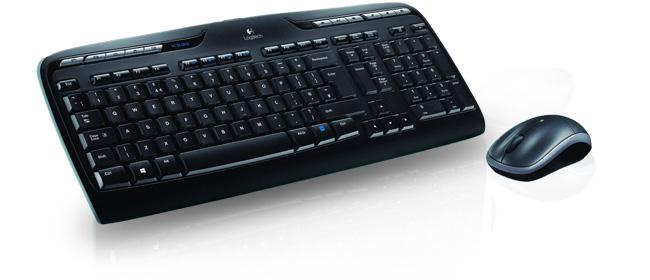 logitech wireless desktop mk330 pack clavier souris logitech sur. Black Bedroom Furniture Sets. Home Design Ideas