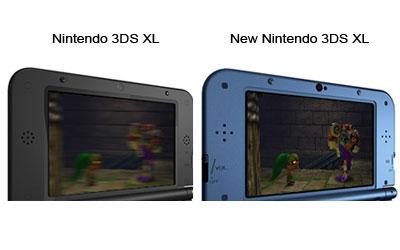 Nintendo new 3ds xl noire console nintendo 3ds for Ecran noir appareil photo 3ds