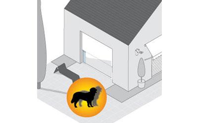 somfy d tecteur de mouvement ext rieur d tecteurs et capteurs somfy sur. Black Bedroom Furniture Sets. Home Design Ideas