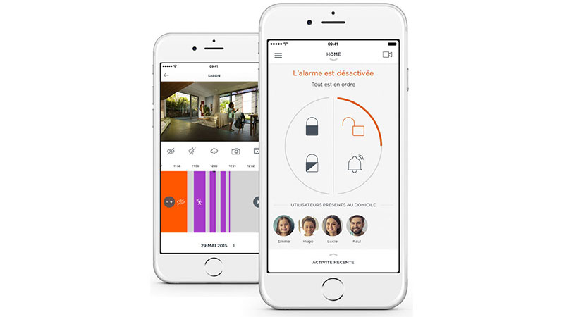 somfy starter kit home alarm kit alarme somfy sur. Black Bedroom Furniture Sets. Home Design Ideas